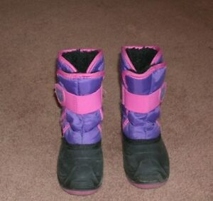 Girl's Kamik Winter Boots, Size 8