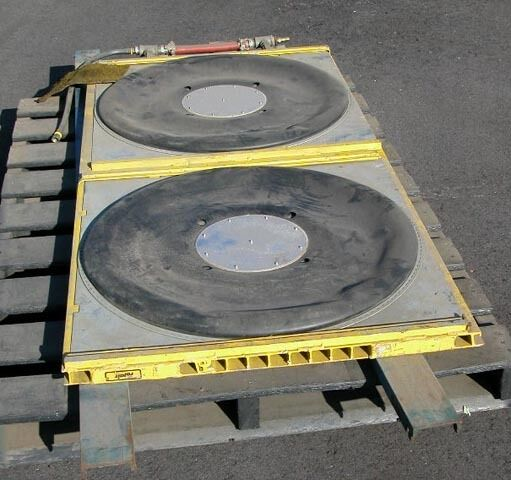Rolair Flotation Air Pads: Condition B+ To A-, (inv.673)