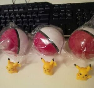 Pokemon 20th Anniversary Poke Ball w/ Pikachu
