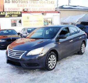 """""""ACTIVE/GREAT 4 UBER""""  2015 NISSAN SENTRA PURE DRIVE AUTO SPORTY"""