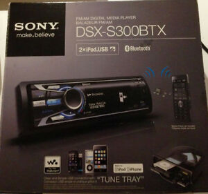NEED GONE Car Stereo Deck Sony DSX S300btx iPod/iPhone/MP3