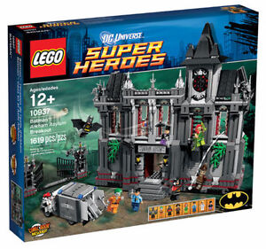 NEW LEGO DC Super Heroes Batman Arkham Asylum Breakout 10937