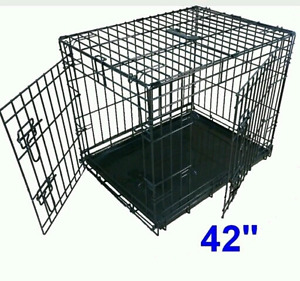 42 inch Dog crate kennel 3 doors brand new