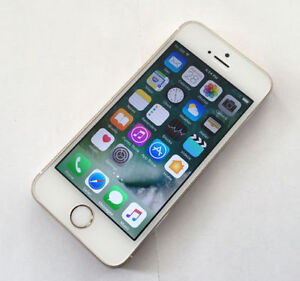 Apple iPhone 5S 16GB Gold Fido Mobile Excellent Condition $190