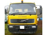 Volvo FL220 - 03 Plate - Hook loader Roll-on Roll-off - Ex Council