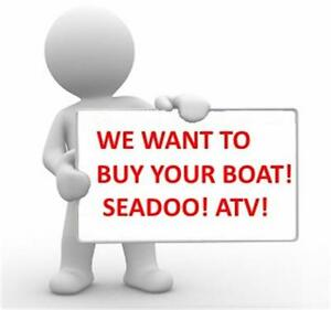 WE WANT TO BUY YOUR BOAT OR PWC! CASH FOR YOUR BOAT TODAY!