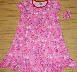 GIRLS (10-12) Children's Place Valentine Nightgown & Hair Tie Oakville / Halton Region Toronto (GTA) image 1