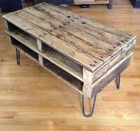 Rustic Vintage Style Oak TV Stand *SOLD PLEASE SEE OTHER ADS*