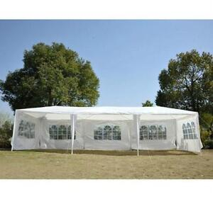 10' x 30' Party Canopy / Wedding Tent Marquees Gazebo with 5 Rem