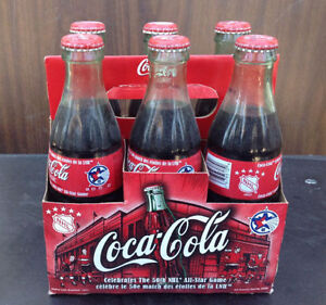 1999 & 2000 Coca Cola / coke 6 pack bottles with carriers Cambridge Kitchener Area image 6