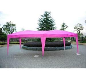 10' x 20' Pop-Up Canopy Tent Pink / Party Camping Event TENT