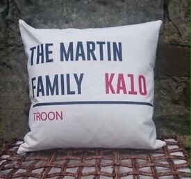 Postcode Cushion