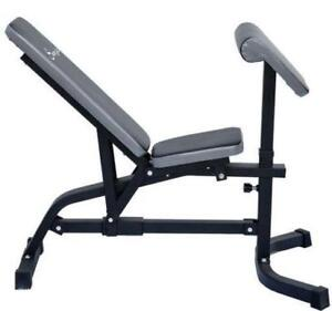 Incline Exercise Bench / Incline Weight Bench with Preacher Curl
