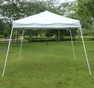 White Pop Up Canopy Tent /10 x 10 Sun Shade Canopy flame resistant Tent Popup tent on sale