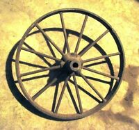 ATIQUE WHEELS AND PULLEYS...ETC