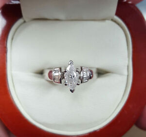 BRAND NEW!! Marquise Diamond Engagement Ring