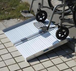 "portable 2 ft wheelchair ramp / foldable 24"" wheelchair ramp"