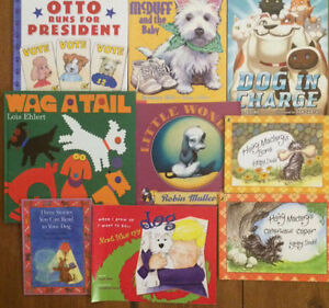 DOG storybooks for kids $3 each or all 9 for $20 London Ontario image 1