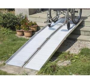 "122"" wheelchair ramp /scooter ramp /LiteRamp Portable Handicap"