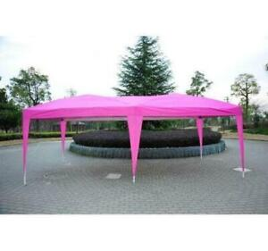 10 x 20 Pop-Up Canopy Tent Pink / Party Camping Event TENT