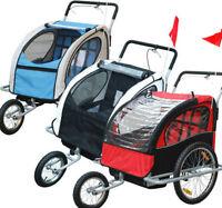 Chariot / remorque à vélo 2 en 1 pour 2 enfants NEUF !      Suiv