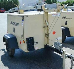 Ingersoll Rand L6-60HZ-HZ-T4F 6KW Light Tower
