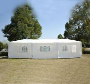 Tent for sale 10' x 30' Party tent /Event tent / White Wedding Tent / Tent for sale Wedding tent