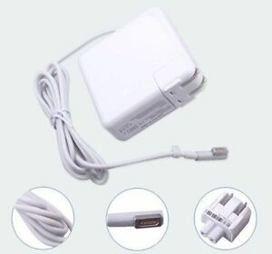 Charger Chargeur for Apple Macbook Mac Magsafe 1 & 2 45w 60w 85w