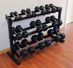5 - 50 lbs Weights Hex Dumbbells Brand New $499