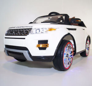 EXCLUSIVE LED EDITION RANGE ROVER STYLE WITH RUBBER TIRES/RC/