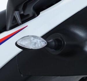 NUOVO-R-amp-G-RACING-LED-Mini-indicatore-MICRO-ARANCIONE-E-BIANCO-BICCHIERI