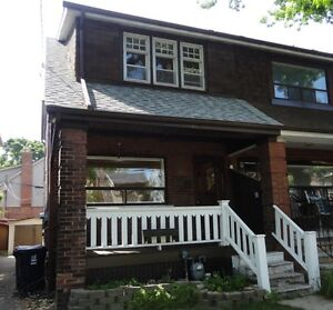 Danforth and Woodbine area 3 Bedroom Home