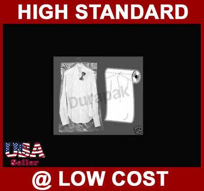 20X3X36 1 Roll of 333 Bag Clear Plastic Gusset Garment Bags Good 4 Dry Clean Biz