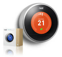 NEST 3rd Gen WiFi Thermostat $249.00 Includes FREE installation