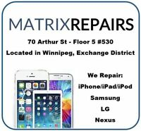 Cell Phone Repair Winnipeg. Fast, Reliable, 1 Year Warranty.