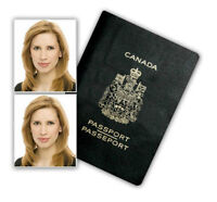 Official Downtown Calgary Passport Visa ID Photo