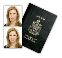 Official Downtown Calgary Passport Visa ID Photo