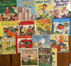 ROBERT MUNSCH Children's Books $4 each or all 14 for $40