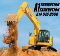 A1 CONSTRUCTION EXCAVATION FORMATION. 514 516 8550
