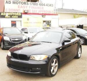 ONE OWNER/LOW KLMS.!! 2009 BMW 128i LEATHER SUNROOF SPORTY COUPE