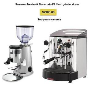 Treviso Coffee Machine and Grinder package