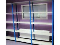Link 51 Used High Quality Industrial Metal Shelving Like New Used for Storing Office Stationary