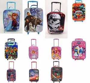 Disney Character Kids Holiday Travel Suitcase Trolley LUGGAGE