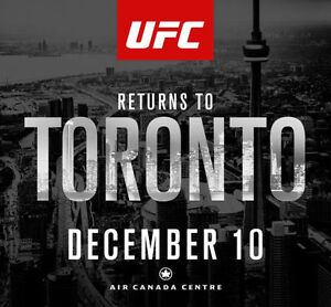 UFC 206 / 2 TICKETS / Section 317 / Can be bought separately!