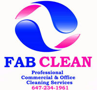 Fab Clean # 1 OFFICE CLEANING Services