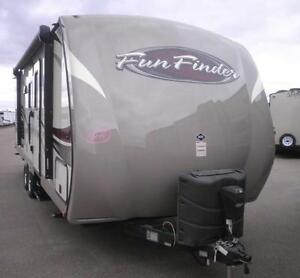 LAST ONE FUN FINDER 242BDS BUNK TRAVEL TRAILER LOW RATES!!!!!!