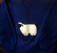Hand Knitted Sweater For Sale!