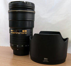 Nikkor Lens AF-S 24-70mm f2.8G ED + Filter