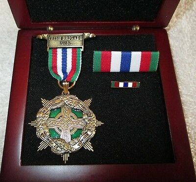 Irish Brigade Civil War Medal - Boxed Set