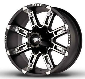 NEW!! 16, 17, 18 or 20! Black/mach - F150 f250 chevy dodge 1500